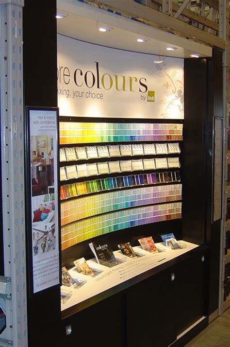 B Q Painting by B Q Paint Tinting Display Impulse Point Of Purchase Ltd