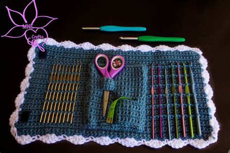pattern crochet needle case crochet et tricot on pinterest free crochet crochet and