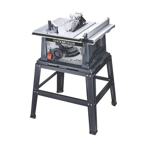 genesis 10 in 15 portable table saw with stand