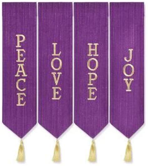 advent themes hope love joy peace peace love hope joy advent wreath banner purple a purple