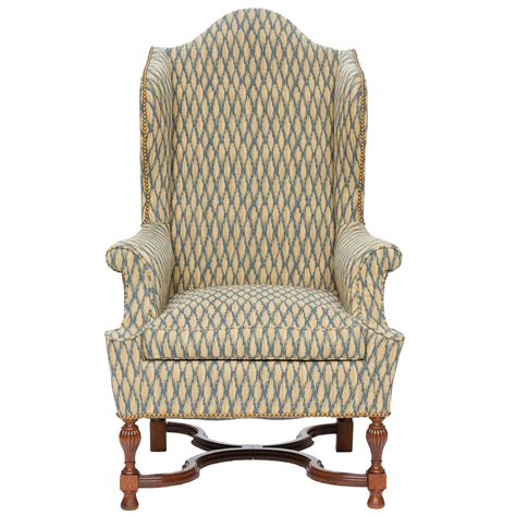 Wingback Armchair by Antique Wingback Armchair At 1stdibs