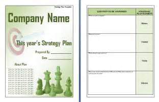 strategic planning report template strategic plan template free word s templates
