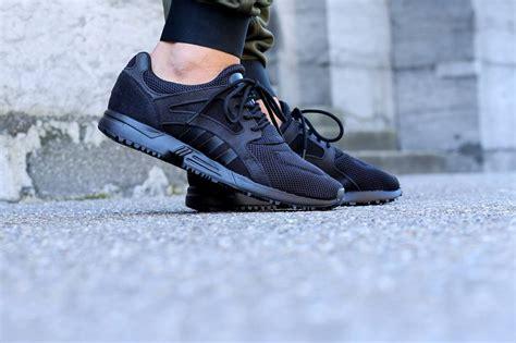 adidas lite racer black adidas racer lite black sneaker bar detroit