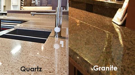 Which Is Better Quartz Or Granite For Countertops - quartz vs granite solid surface countertops kitchen