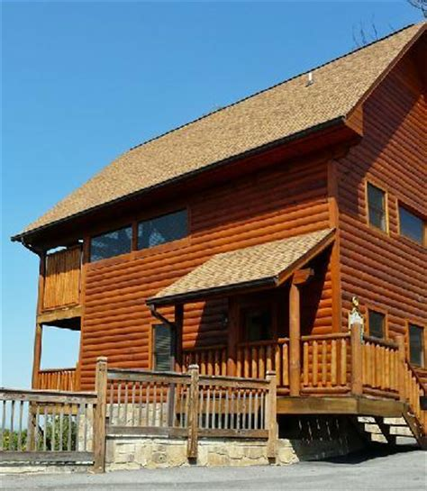Crest Cabins by Loft Bed Area Picture Of Crest Resort Sevierville Tripadvisor