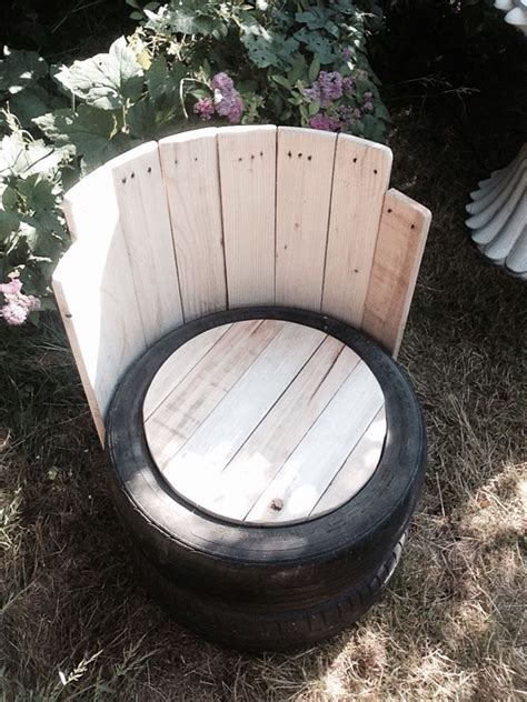 How To Make A Tire Chair by 25 Best Ideas About Tire Chairs On Diy Chair