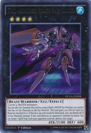 Kartu Yugioh Black Ultra armored black lancer dusa en008 ultra