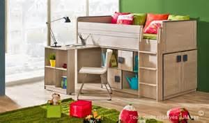 lit enfant combine bureau 90x200 gum