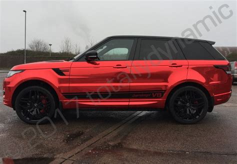 chrome range rover sport totally dynamic range rover sport autobiography with a