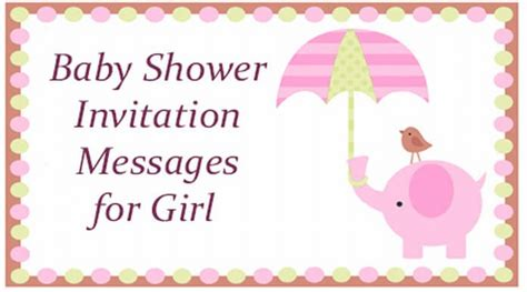 Message For Baby Shower by Baby Shower Invitation Messages For
