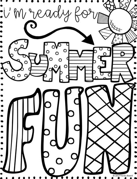 free summer coloring pages best 25 summer coloring pages ideas on summer