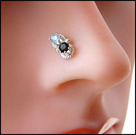 gem nose jewellery fashion trend fashion mag