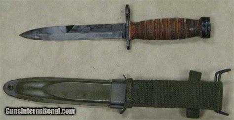 camillus bayonet wwii u s m4 camillus bayonet us m8a1 pwh scabbard