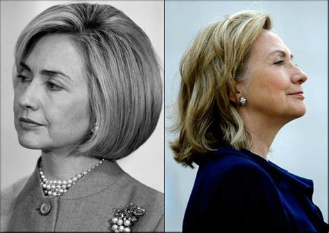 hillary clintons hair color why women political leaders quot power cuts quot are bob