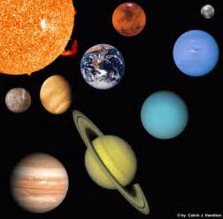 what colors are the planets planets html