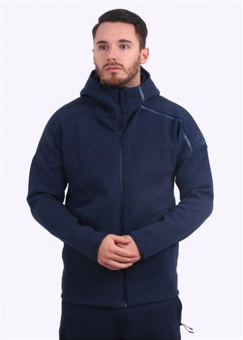 Adidas Zne Hoodie Original 3 adidas originals apparel zne hoody navy triads mens from triads uk