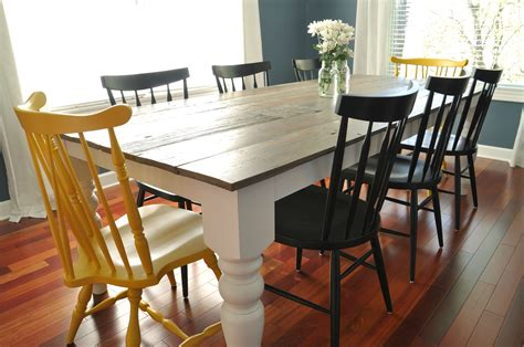 Dining Room Table Plans Free 7 Diy Farmhouse Tables With Free Plans