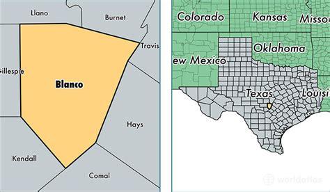 blanco texas map blanco county texas map of blanco county tx where is blanco county