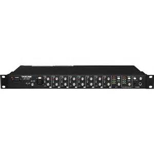 Rack Audio Mixer Tascam Lm 8st Rackmount Line Mixer Lm 8st B Amp H Photo Video