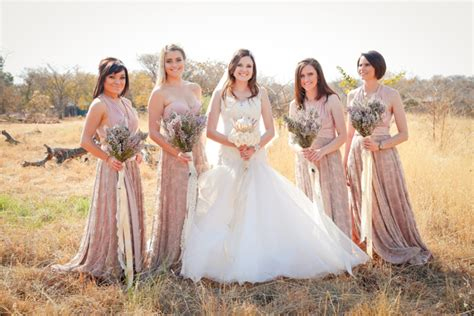 bridesmaid shaving stories rustic protea wedding by 5 talents photography