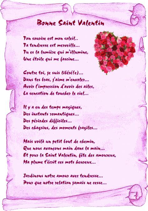 texte st valentin texte et image