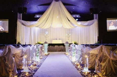 wedding aisle draping wedding elegant events ceiling drape pipe and drape