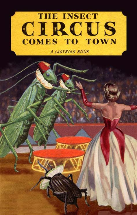 j c comes to town books insect circus museum