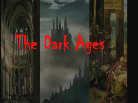 the darkening age the my diary history lesson dark ages