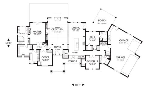 alan mascord floor plans house plan 1250 the westfall