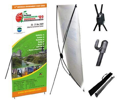 X Banner 60x160cm Grade C X Banner Indoor 60x160cm Cendana Digital Printing