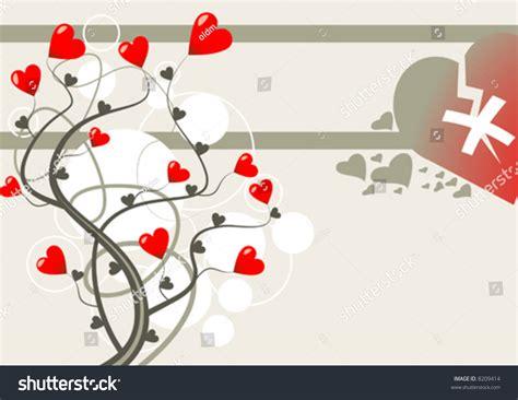 themes broken love broken love theme vector 8209414 shutterstock