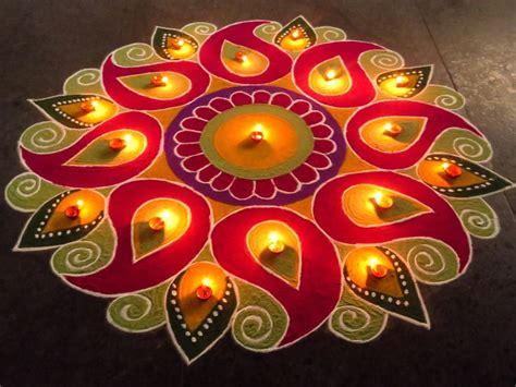 Handmade Rangoli Designs - 1000 ideas about diwali designs on diwali