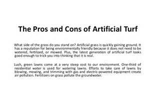 The Pros And Cons Of The Pros And Cons Of Artificial Turf