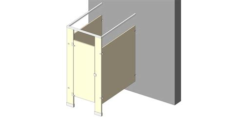 revit bathroom partitions