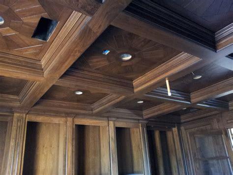 Hardwood On Ceiling by Walnut Parquet Ceilings Traditional Hardwood Flooring Sacramento By Select Hardwood
