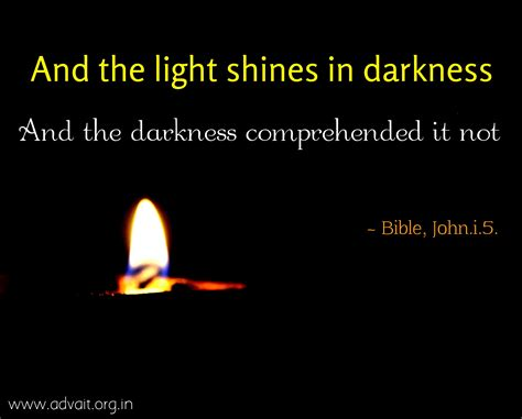 a light shining in darkness bible and the light shines in darkness and the darkness