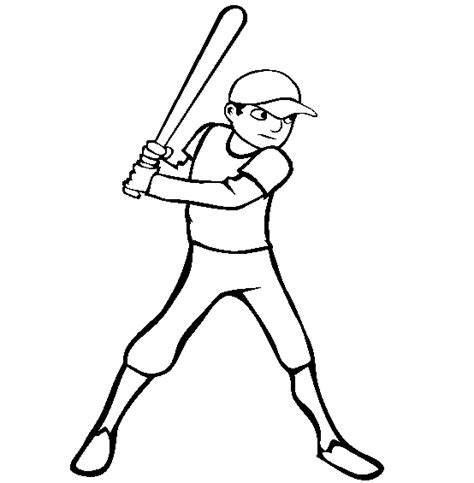 Ultimate Baseball Coloring Sheets Roundup Printable Baseball Player Coloring Pages