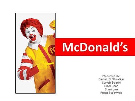 Mcdonald Authorstream Mcdonalds Powerpoint Template