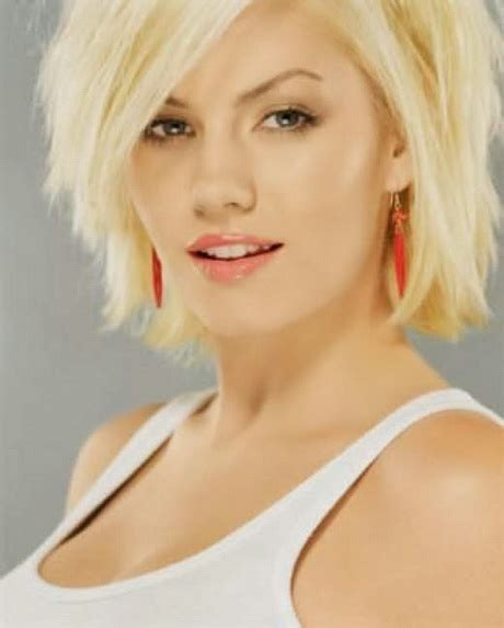 haircuts for round face and thick hair short hairstyles for thick hair and round face
