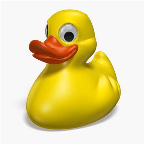 3d Rubber Duck 3d yellow rubber duck
