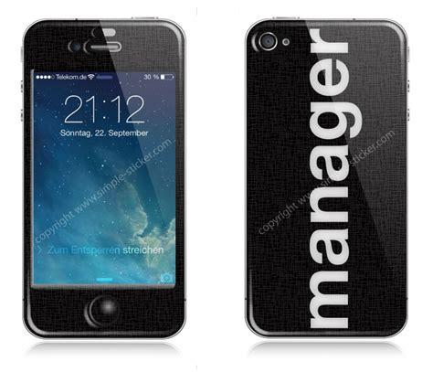 Apple 3d Aufkleber by Iphone Aufkleber Sticker 3d F 252 R Iphone 4 4s Manager