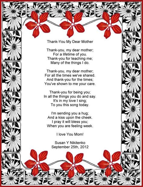 Thank You Letter To My Daughters Letter To A From On Wedding Day Treasure
