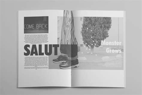 free zine layout re4 fanzine on behance