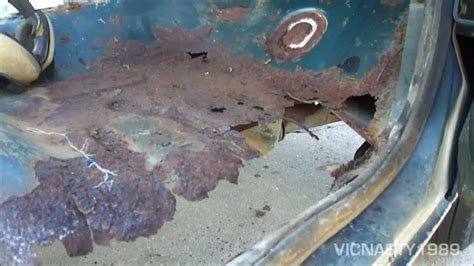 Ford Truck Bed Repair Panels Floor Pan Rust 1986 Ford F25o 4x2 Youtube