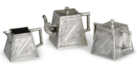 Plastik Silver Cn 0106 Arniss a three silver plated tea service of w tufts boston circa 1885 christie s