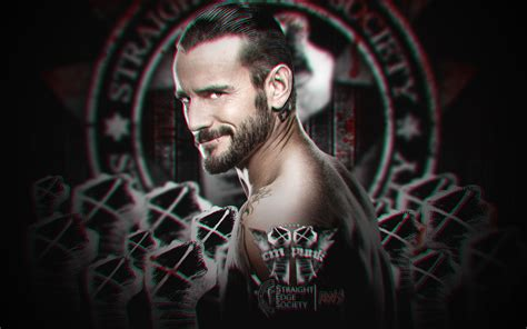 wallpaper 3d wwe new wwe 3d wallpaper cm punk by aw edition by aw edition