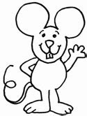 mouse coloring pages preschool mouse coloring pages
