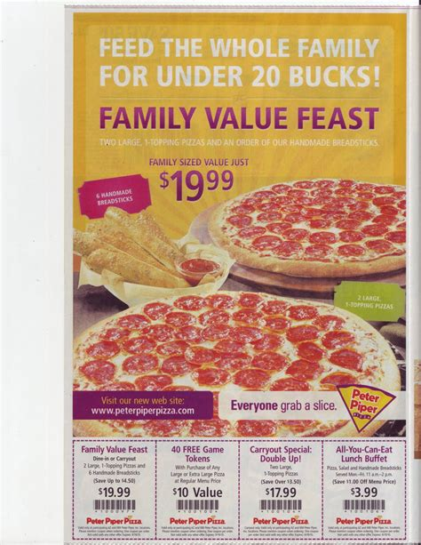 piper pizza buffet price piper pizza menu prices images