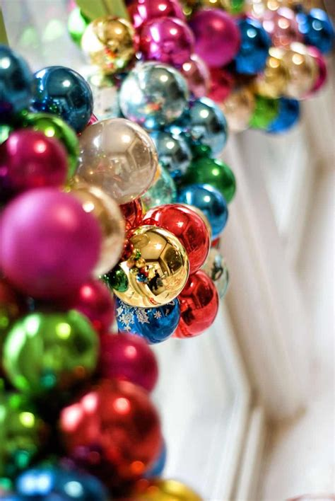 christmas garlandballs 11 glamorous dollar store decorations for any budget the budget