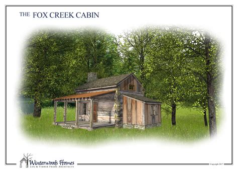 the fox creek cabin winterwoods